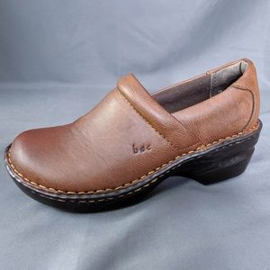 Boc Shoes Size 7 Brown Womens Peggy Clogs Slip On